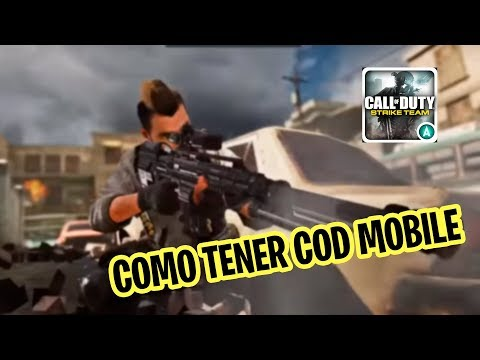 COMO ENTRAR: CALL OF DUTY MOBILE COD PARA ANDROID
