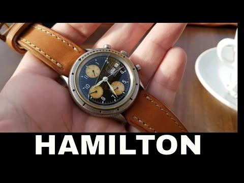 Hamilton Chronograph Field Watch LL Bean EDC Gunner