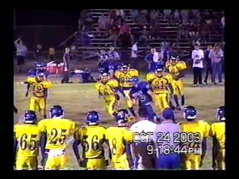 2003 District Game: Trinidad 70 Fruitvale 35