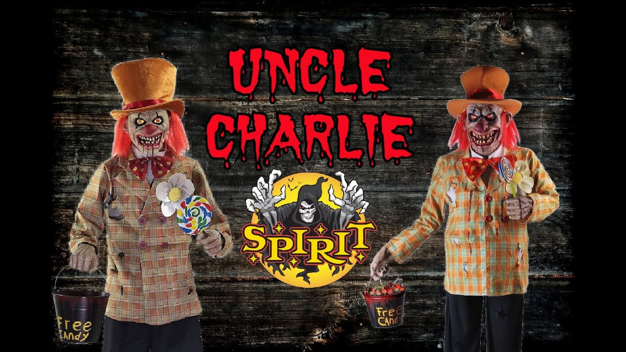 Halloween 2020 Is A Remake? UNCLE CHARLIE IS BACK! SPIRIT HALLOWEEN 2020 UNCLE CHARLIE REMAKE