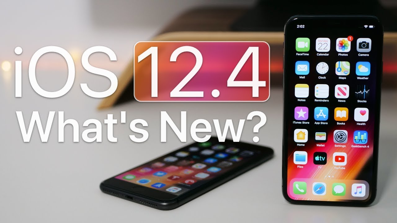 Ios 12 4 Is Out What S New
