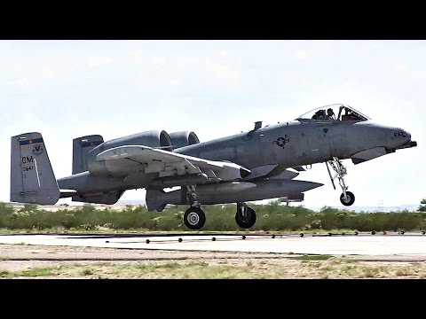 A-10 Aircraft Landings - Return From Deployment