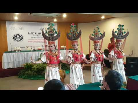 Toraja Traditional Dance.... North Toraja. Upload by Metro Tours and Travel. December 2016
