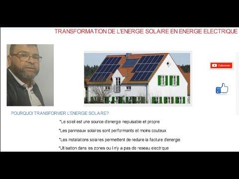 Video N°233 CIRCUIT ENERGIE SOLAIRE