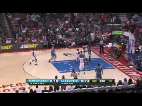NBA November 26 2012: New Orleans Hornets vs Los Angeles Clippers Highlights