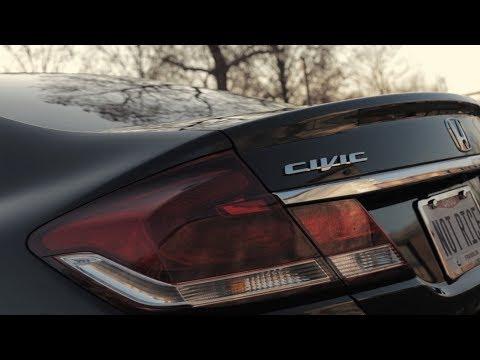 Tour of My 2015 Honda Civic LX Sedan (with cinematic b roll)