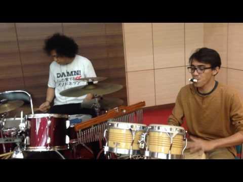 Yamko Rambe Yamko duet Drum & Percussion (Ara & AL)