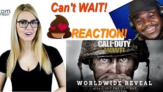 Call of Duty®: WWII Reveal Trailer REACTION