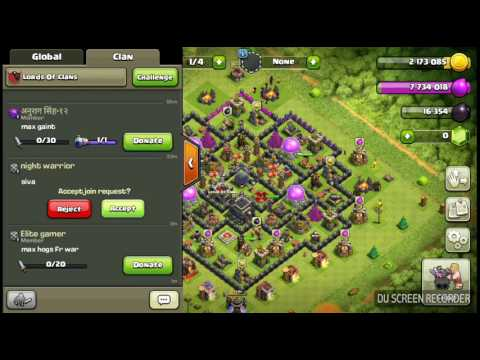 Clash of clans|benefit of dropping TROPHIES