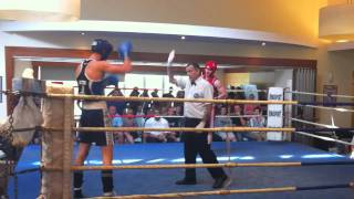 Zac Dunn - Boxing In Queensland - Round 1 2011