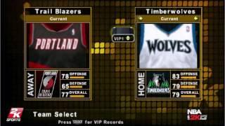 NBA 2K16 for PSP Playstation Portable - An NBA 2K13 mod