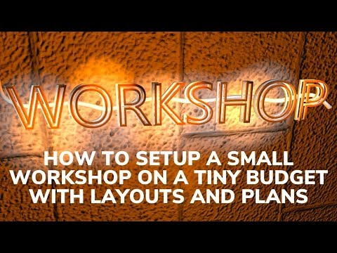 Woodworking Shop Layout: How To Set Up A Fully Equipped Small Woodworking Workshop