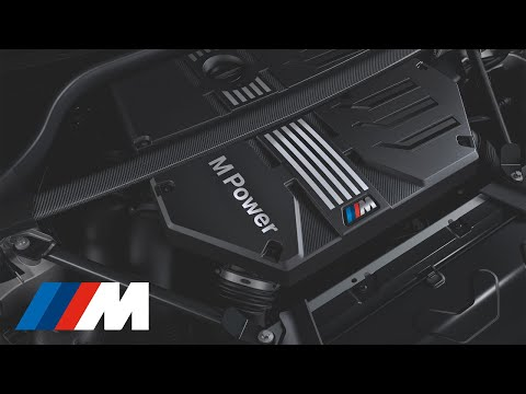 The all-new high-performance BMW M six-cylinder engine.