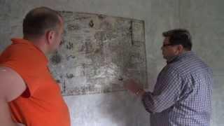 видео декорирование стен