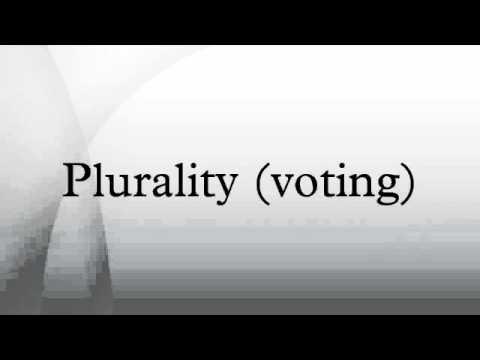 Plurality (voting)
