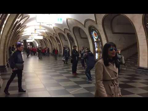 Novoslobodskaya station / Group tour / Private tours Moscow metro
