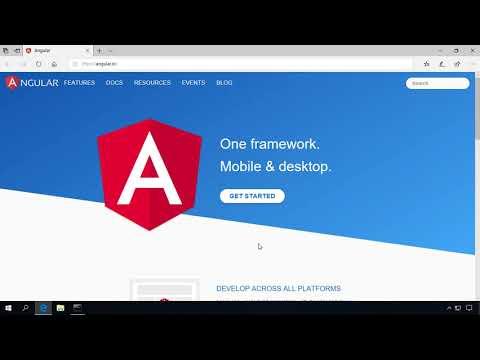 Angular 6(앵귤러 6) 시작하기 04 - Visual Studio Code 설치