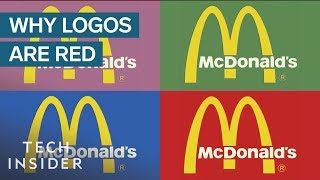 Why So Many Fast Food Logos Are One Color