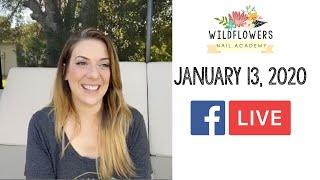 Facebook Live - January 13, 2020