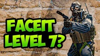 IF I WIN ILL BE LEVEL 7 FACEIT CSGO COMPETITIVE