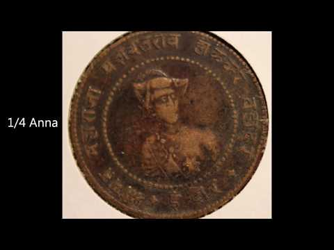 Rare Old Indore State Coins