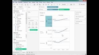 How to Add Separate Dynamic Reference Lines For Each Dimension Member in Tableau