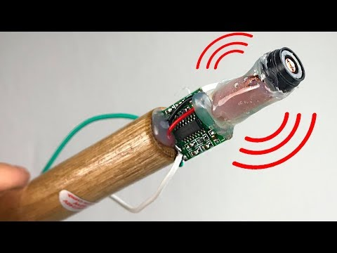 How to make a mini simple pinpointer ( metal detector ) /Tutorial