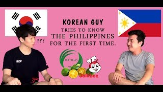 A korean guy try to learn Tagalog and Filipino's culture/First trip to the Philippines.