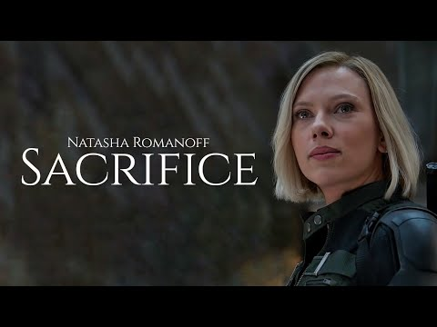 Natasha Romanoff Black Widow Sacrifice Hbd H J M Edits