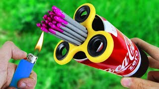 Amazing Experiment Fidget Spinner & Sparklers