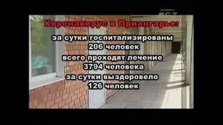 Коронавирус в Приангарье актуальная информация на 25 июня