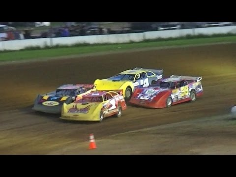 RUSH Crate Late Model Dash | McKean County Raceway | 8-18-16