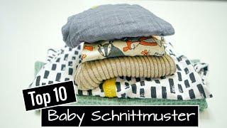 10 Stoffreste Nähideen - Die schönsten Upcycling Ideen für Babykleidung