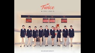 Netizens show love for TWICE's flight attendant concept in Japan 2019 season's greetings