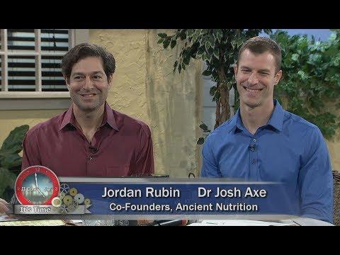 "Herman and Sharron - Dr Josh Axe and Jordan Rubin  ""Keto 360""  Ancient Nutrition"