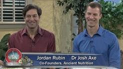 "Herman and Sharron - Dr. Josh Axe and Jordan Rubin  ""Keto 360""  Ancient Nutrition"