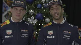 TAG Heuer | Red Bull Racing Special Assignment #SANTASOFFICIALWATCH