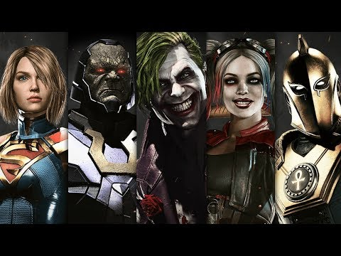 INJUSTICE 2 - All Super Moves All Characters