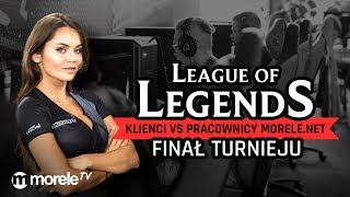 Finał turnieju League of Legends | Klienci vs pracownicy morele.net