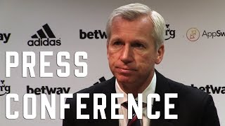 Alan Pardew post West Ham Press Conference