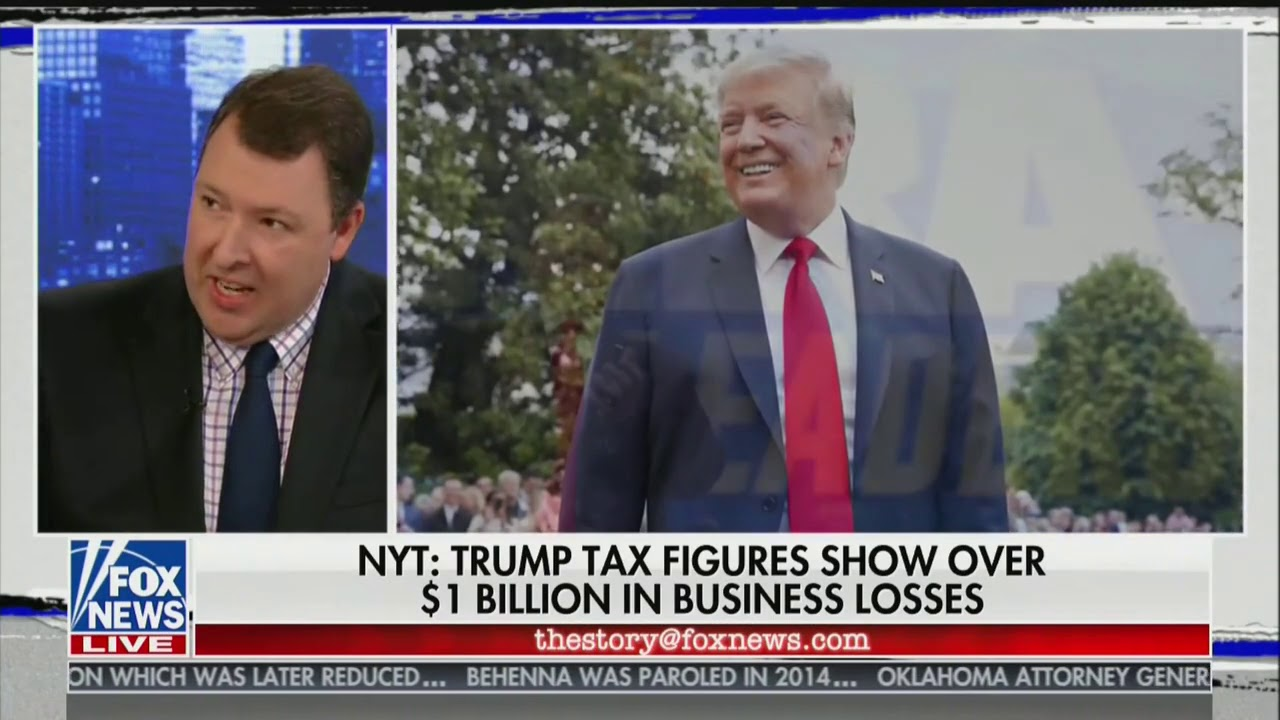 Fox News Reacts to Trump Tax Bombshell: He 'Has the Best