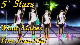 [Just Dance 4] - What Makes You Beautiful - One Direction - 5 Stars