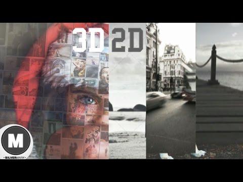 2/3D Photo Slideshow Bundle (After Effects Template)