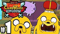 Card Wars Kingdom Adventure Time Gameplay Walkthrough PART 1 Jake's New Floop! Android iOS App HD