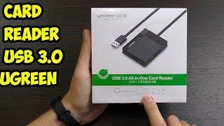 Card Reader Ugreen USB 3 0, SD, Micro SD, Compact Flash. Обзор и тест.