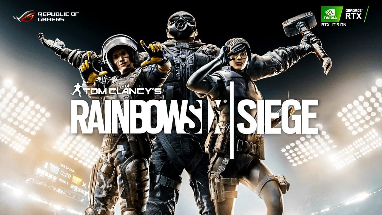 TOM CLANCY'S RAINBOW SIX SIEGE! TACTICAL 5v5 l REPUBLIC OF GAMERS l RTX IT'S ON 🙌
