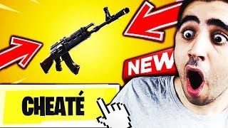 🔴 EM esperar o novo ARME enganado no Fortnite Battle Royale!