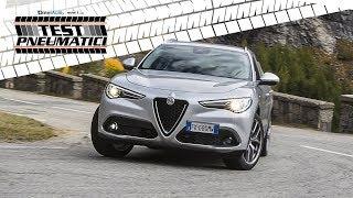 Alfa Romeo Stelvio Q2   Come va un SUV a trazione posteriore con le Hankook Winter