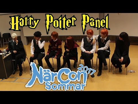 Highlights from the Harry Potter Panel | NärCon Sommar 2017 [eng+ sub]