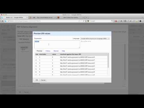 LMF Screencast: Publishing Legacy Data as Linked Data